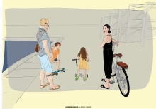 A Family, Habima Square, Tel Aviv