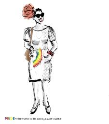 Street Style in Tel Aviv - Special Pride 2018 - Drag
