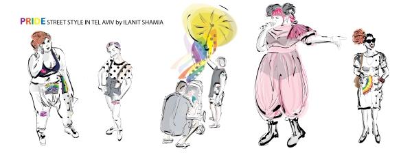 Street Style in Tel Aviv - Special Pride 2018 Facebook cover