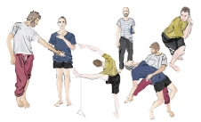 A visit to a dance rehearsal - The Rite of Spring by Yossi Berg and Oded Graf