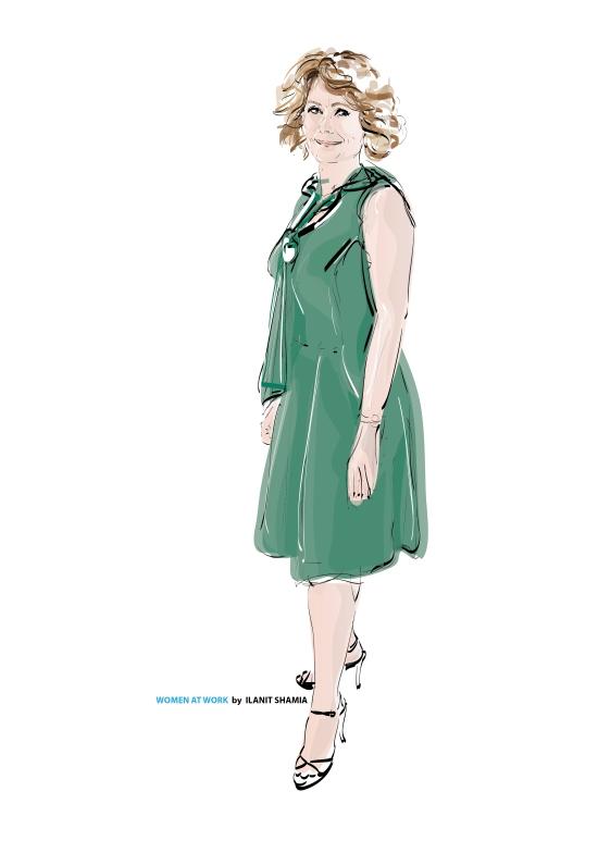 Women At Work #23 - Arielle Blonder