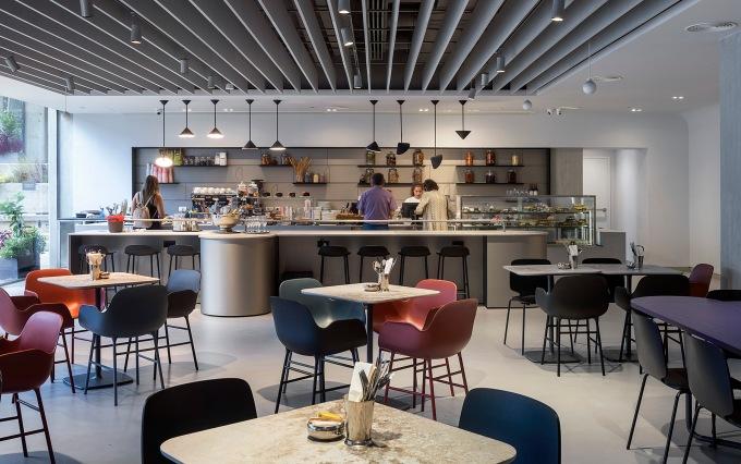 מוזיאון תל אביב, סטודיו קפה. צילום אלעד שריג